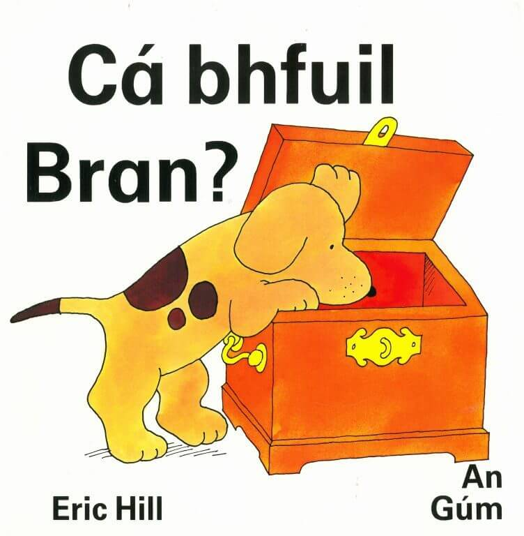 <em>Where's Spot</em>, Gaelic Edition